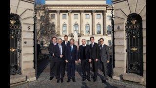 Berlino, Gentiloni interviene all'Università Humboldt