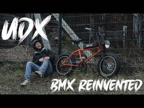 UDX Electric Fatbike: BMX REINVENTED – First Ride
