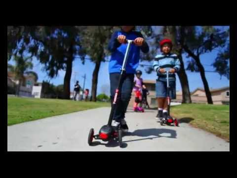 YVolution Y Glider XL 3 Wheeled Scooter