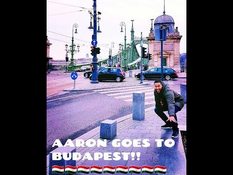 Vlog #10 - Aaron Roach Bridgeman goes to Budapest