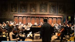 Jinha Park - Rachmaninoff Piano Concerto No.2, 1st movement- Music Fest Perugia 2015