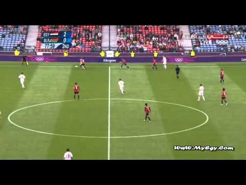 Egypt VS Belarus 3 1   London2012