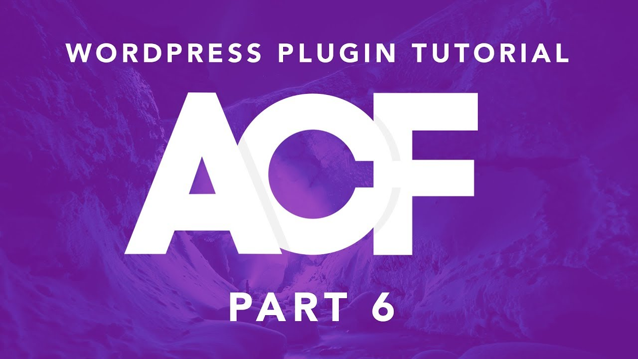 Building Websites With WordPress: ACF Plugin Part 6 - Options Sub Page