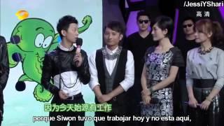 [Sub Español] 130406 Super Junior M en Happy Camp - Parte 2