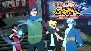NEW Road to Boruto: Naruto Storm 4 Boruto/Sarada/Mitsuki/Konohamaru Screenshots [HD]