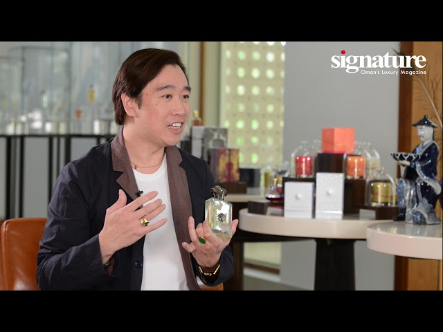 Amouage Creative Director, Christopher Chong, on the new fragrance - PORTRAYAL