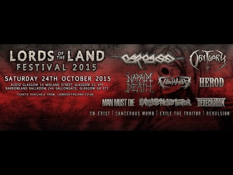 Voivod (CAN) - Live at the Barrowlands, Glasgow October 24th, 2015 FULL SHOW HD