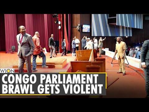 Violence in DR Congo Parliament as political crisis grows   Prez Felix  dissolves ruling coalition