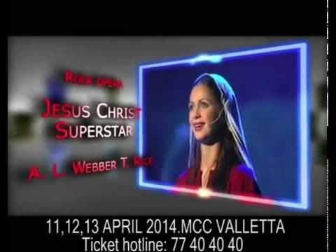 Jesus Christ Superstar.Mediterranean Conference Centre, Valletta Malta, 11,12,13 April,2014