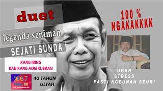 KANG IBING DAN AOM KUSMAN ULTAH MARA 40 FULL