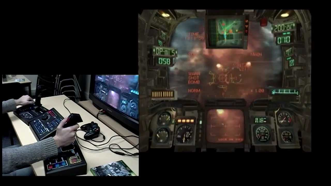 Steel Battalion (2002) Gameplay and Controller - YouTube