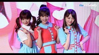 걸그룹 허니팝콘이 3월 21일 오후 마포구 서교동 스테이라운지에서 열린...
