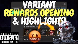 Warning: Terrible Language - Variant Crystal Opening & Highlights!!! - Marvel Contest Of Champions