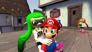 [Mariopalooza Collab] Mario gets disturbed by Inklings thumbnail