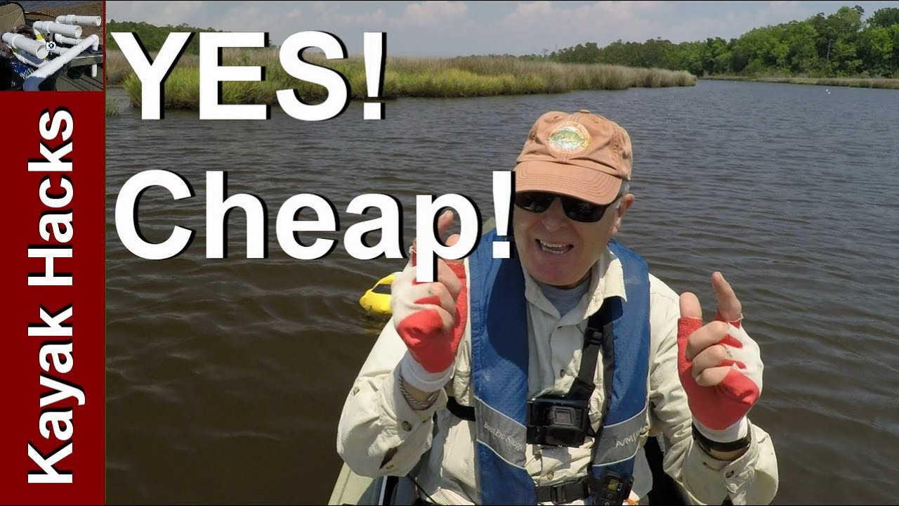 Kayak fishing live well for bait less than 15 youtube for Fishing kayak with livewell