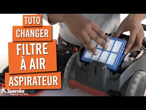 Remplacer le filtre air de votre aspirateur youtube for Brancher un aspirateur de piscine