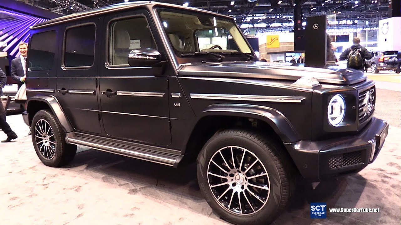 2019 Mercedes Benz G Class G 550 Exterior And Interior Walkaround