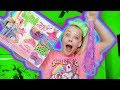 MAKING SLIME WITH THE JOJO SLIME KIT!!! **BEST FLUFFY SLIME EVER!!**