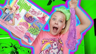 how to make nickelodeon slime kit