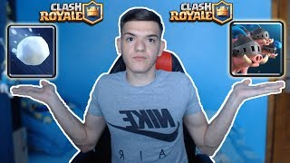 NOILE CARTI ROYAL HOGS SI GIANT SNOWBALL IN NOUL UPDATE! Clash Royale Romania