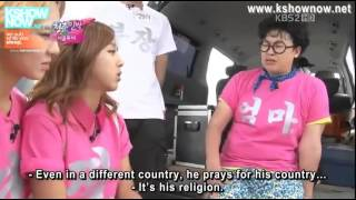 Orang Islam di Reality Show Korea - Invicible Youth episode 35