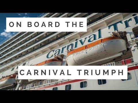 Life Aboard the Carnival Triumph