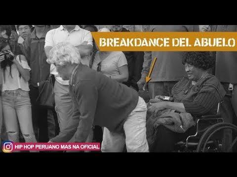 Abuelo bailando BREAKDANCE