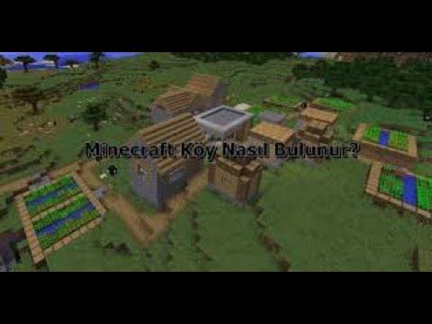 Minecraft köyde doğma