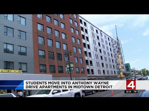 New apartments at Wayne State