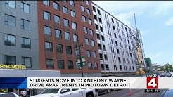 New apartments at Wayne State