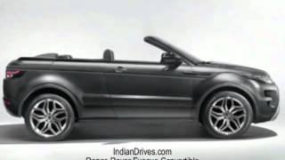 Range Rover Evoque Convertible Concept 2012 Videos