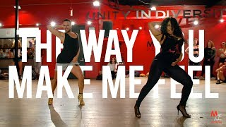 "YANIS MARSHALL & AISHA FRANCIS  HEELS CHOREOGRAPHY. ""THE WAY YOU MAKE ME FEEL"" MICHAEL JACKSON."