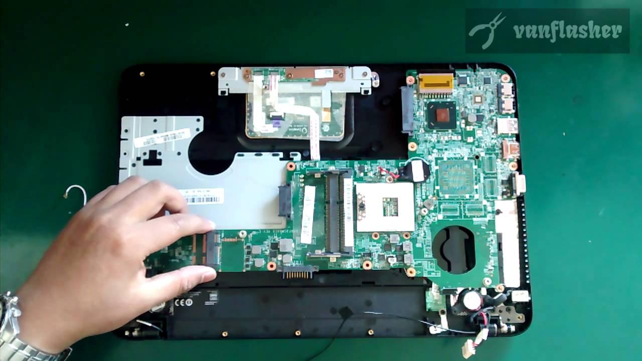 Toshiba Satellite C800 C840 L840 M840 Disassembly Youtube