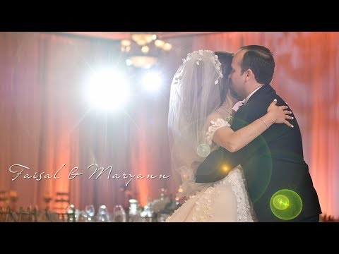 San Diego Wedding of Faisal & Maryann - Same Day Edit