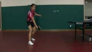 Park Mi Young Chop Forehand Sequence 2