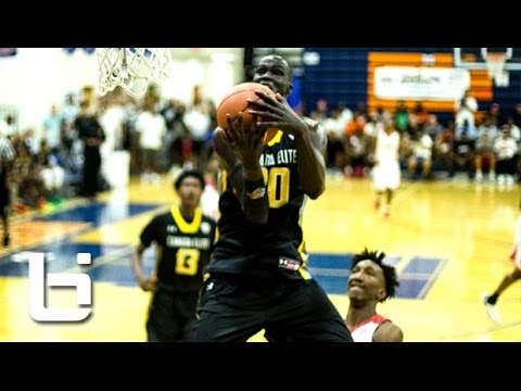 Dennis Smith (NC Loaded) vs Thon Maker (Canada Elite) Full Game at Fab 48!