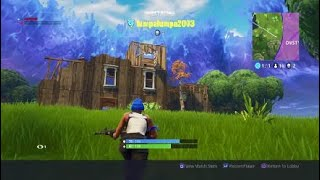 Fortnite quest for solo win #1