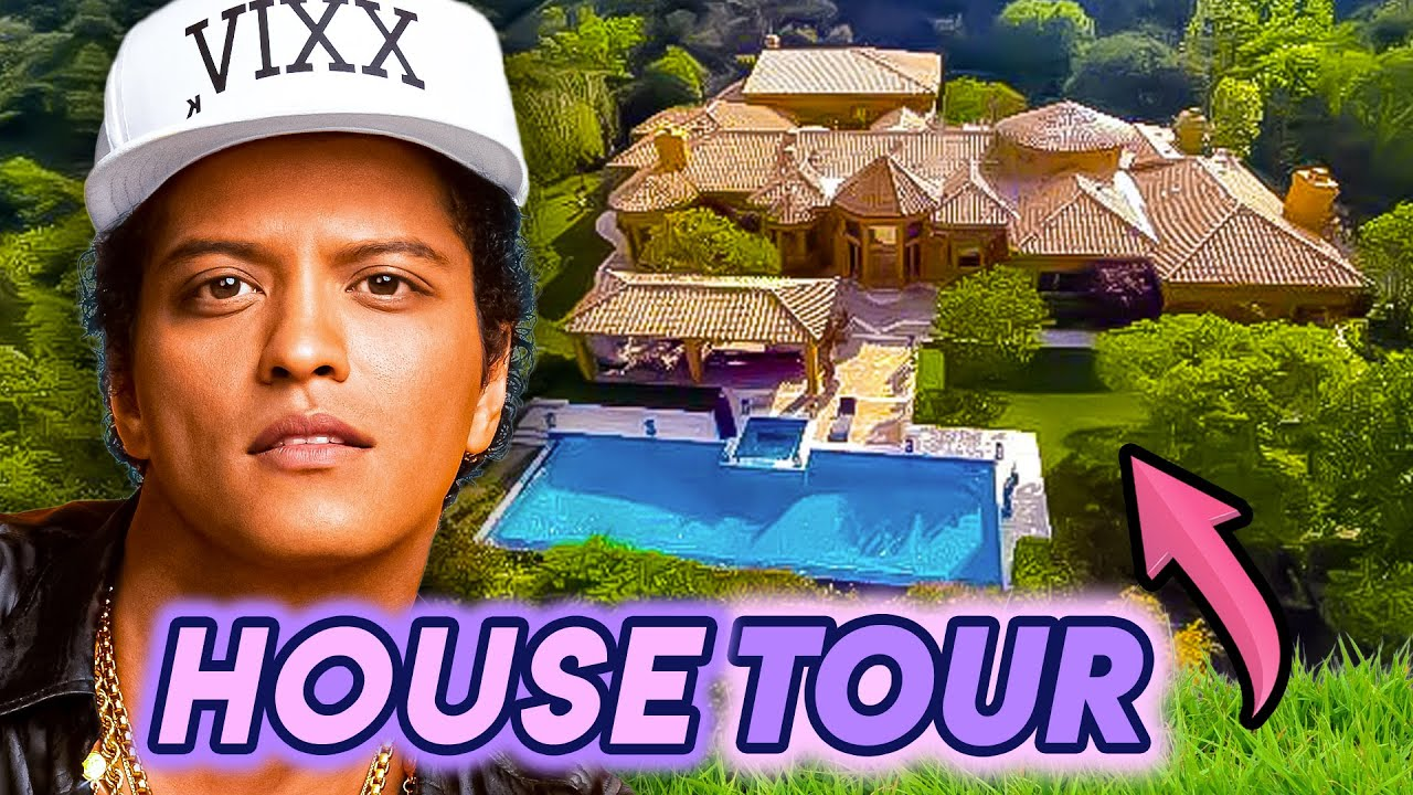 Bruno Mars House Tour 2020 6 5 Million Los Angeles Mansion More Youtube