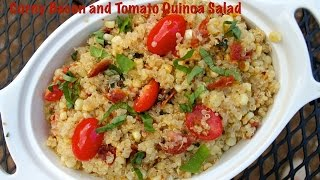 Simple Summer Quinoa Salad Recipe