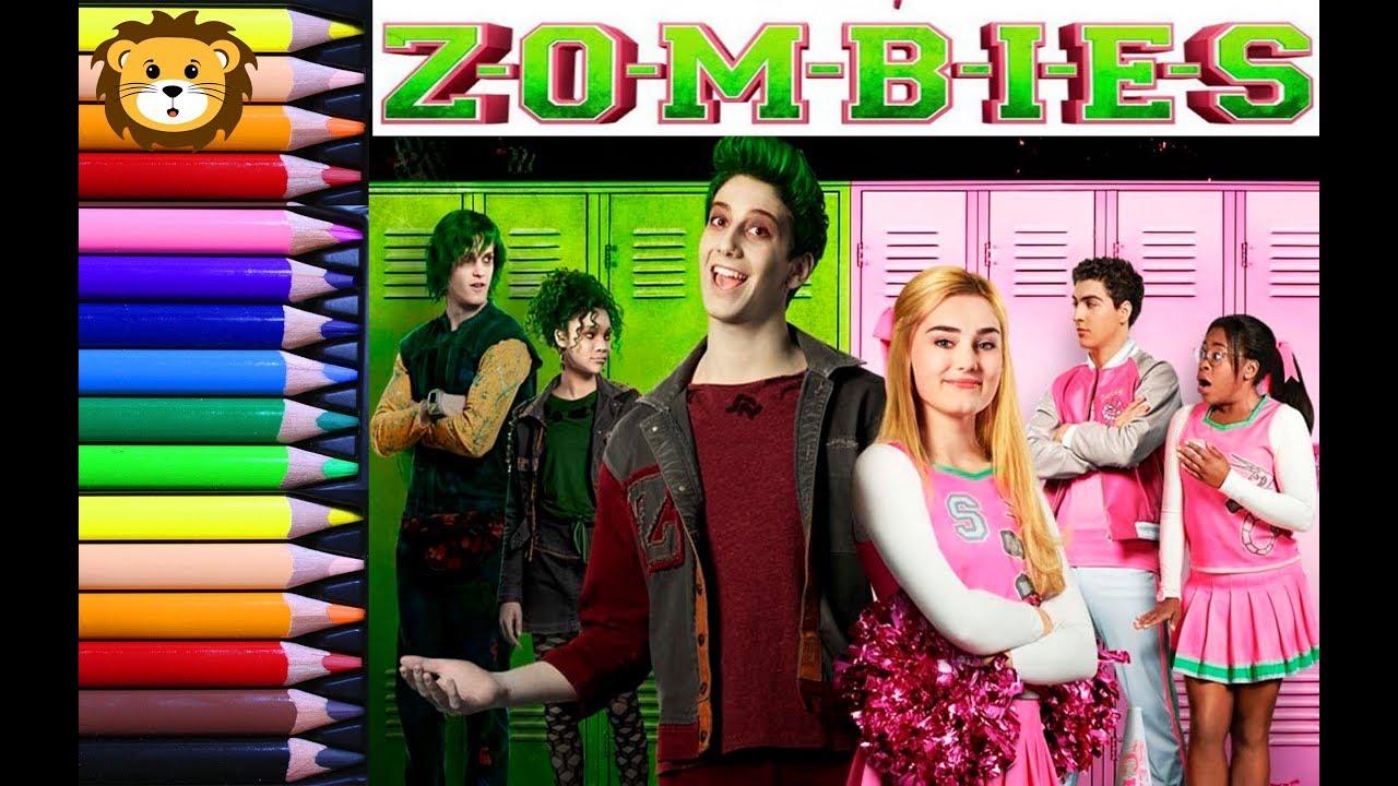 Rompecabezas Para Niños Zombies Disney Chanel Puzzle For Boys