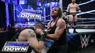 Roman Reigns & Dean Ambrose vs. Sheamus & Kevin Owens: SmackDown, December 31, 2015