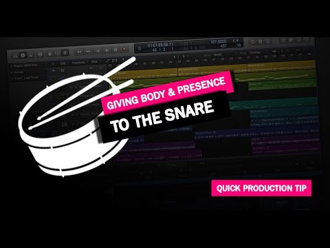 Quick Production Tip #2: Giving Body & Presence To The Snare