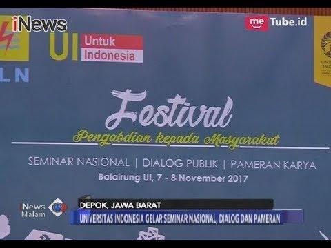 Universitas Indonesia Gelar Festival Pengabdian Kepada Masyarakat -  iNews Malam 09/11
