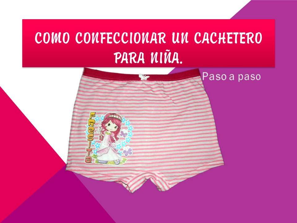 2fc93ce488 Confección de cachetero para niña. - YouTube