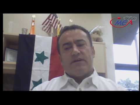 current issues : (( Syria ))  With Mohamad Haj Mohamad and Qusay Ahmed