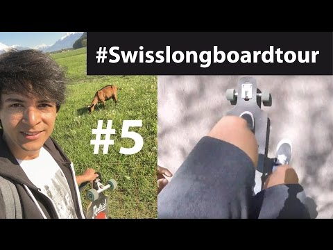 VILLENEUVE - MONTHEY | #Swisslongboardtour #5