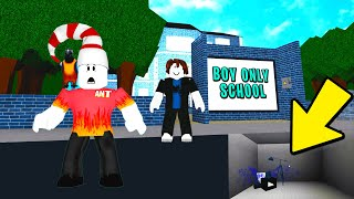 BOY ONLY School Did Something VERY Suspicious... (Roblox Bloxburg)
