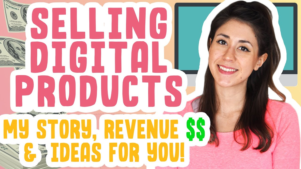 DIGITAL PRODUCT IDEAS! | Selling Digital Products on Etsy, Passive Income Story + How Much I Make $$