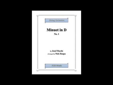 Minuet In D, No  1 (string Orchestra)