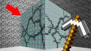 MINING ENTIRE CHUNKS In MINECRAFT...
